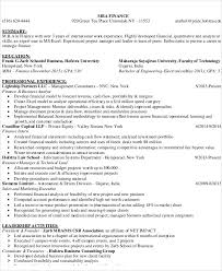 Finance Resume Unique 60 Finance Resume Templates PDF DOC Free Premium Templates