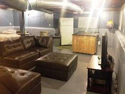Simple Basement Decorating Has Creative Of Finished Basement