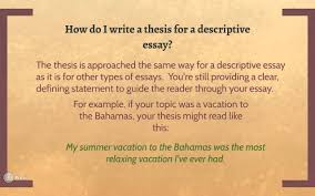 descriptive essay overview eng