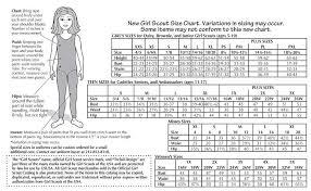 Girl Scout Daisy Vest Size Chart Bedowntowndaytona Com