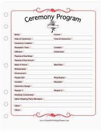 Free Printable Wedding Ceremony Programs Free Printable Wedding Planner Book New Free Printable Wedding