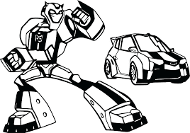 Transformer Coloring Pages Free Printable Transformer Coloring Pages