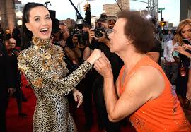 richard simmons. simmons attended the 2013 mtv video music awards in one of his last public appearances. richard