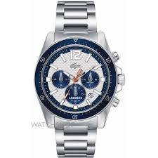 "men s lacoste seattle chronograph watch 2010753 watch shop comâ""¢ mens lacoste seattle chronograph watch 2010753"