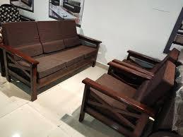 anu furniture fabric wooden 5 seater