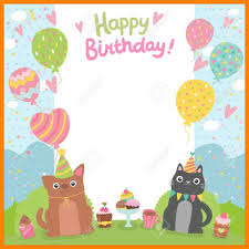 Background Templates For Word Birthday Card Template Free Templates Lab Printable Greeting