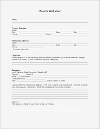 Free Printable Fill In The Blank Resume Templates Samples | Business ...
