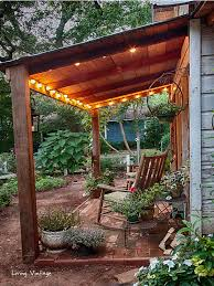 jenny s adorable shed with its cute front porch living vintage
