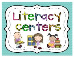 Literacy Center Pocket Chart Cards And Posters Literacy