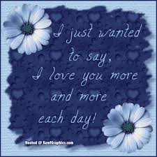 Just Wanted To Say I Love You Quotes Mesmerizing Just Wanted To Say I Love U More And More Facebook Graphic Forum