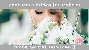 Bridal Face Chart 5 Things To Do To Book More Brides Bridal Contract