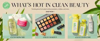 what s hot in clean beauty trending picks formulated without parabens sulfateore
