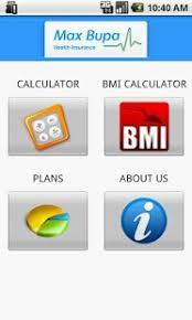Max Bupa Premium Calculator 1 1 12 Free Download