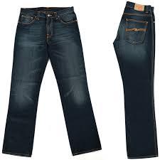 Nudie Slim Jim Size Chart Details About New Nudie Mens Slim Fit Jeans Slim Jim Clean Blue W33 L32