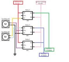 electric fan relay wiring diagram electric image how to wire dual electric fans diagram images on electric fan relay wiring diagram