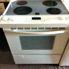 glass top electric stove range oven ge burner replacement