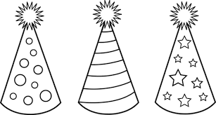 birthday hat clip art black and white. Banner Black And White Free Clip Art Leadershipcriteria Picture Library Birthday Hat For