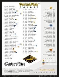 Vulkem 116 Color Chart Color Samples Royal Polish Systems Llc