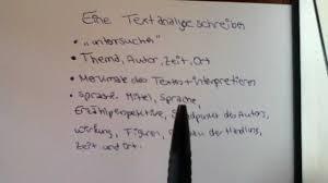 Eine Textanalyse Schreiben Aufbau Und Beispiel F R Den Deutsch