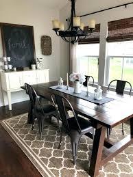 medium size of dining room round farmhouse set tall table style and modern ideas modern farmhouse dining