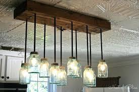 chandeliers ball jar chandelier lighting likable farmhouse kitchen pendant light fixtures oil lamp kit mason