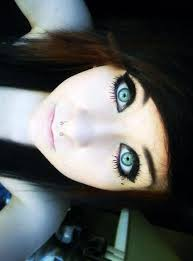 emo makeup is gaining pority nowadays what with its dark smoky eyes and cat shaped eyeliners