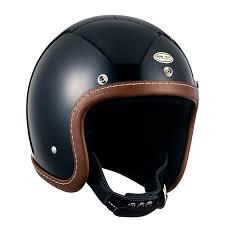 super magnum leather rim shot brown leather 3 4 open face motorcycle helmet