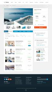 Travel Templates Travel Agency Responsive Hotel Online Booking Template On Behance