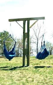diy baby swing frame hammock chair with stand c outdoor wood plan for blue baby hanging