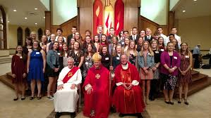 candidates for the confirmation program can begin the process in the fall of 9th 10th or 11th grade candidates will now have the flexibility and option