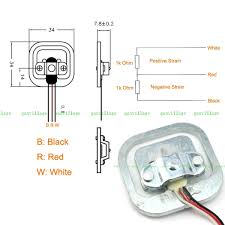 wire load cells and wheatstone bridges from a bathroom scale three wire 50kg load cell