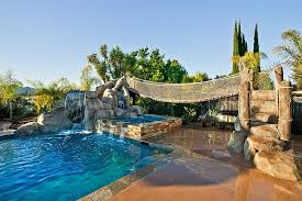 25 Fascinating Pool Bridge Ideas That Leave You Enthralled