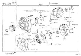 ALTERNATOR for Toyota RAV4 ACA21R-AWMNKW 12V 90A,100A (0005-0307 ...