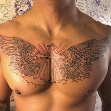 cross chest tattoo designs.  Cross Cross Tattoo_ To Chest Tattoo Designs O