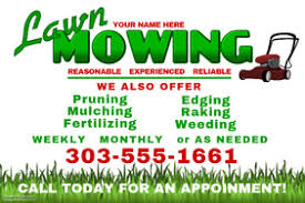 lawncare ad create lawn care business flyers it s easy postermywall