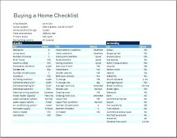 Checklist For Buying A House Inspection Inspection Checklist For