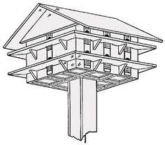 martin bird house plans. Bird House Plan, With Lots Of Instructions About Keeping Sparrows Out. Except I Don Martin Plans