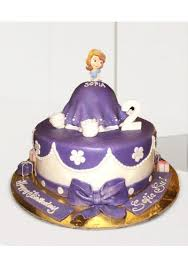 Buy Sofia The First Cake For Sofia The First Cake Customized Cakes
