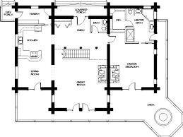 Small Picture SmallLogHouseFloorPlans Montana Log Homes Floor Plan 34