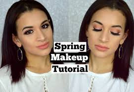 spring 2016 makeup tutorial too faced sweet peach palette