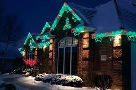 xmas lighting ideas. Christmas Light Ideas Swag And Holiday Lighting Scalloped Lights Indoor Window . Xmas T