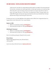 Digital In 2016 Executive Summary