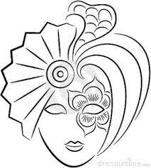 Carnaval Maskers Kleurplaten Kleurplaat Maskers 7298 Kleurplaten
