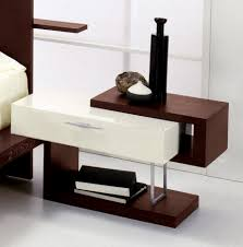 Modern Bedroom Side Tables Small White Nightstand Small White Nightstands With Single Drawer