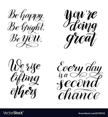 Set Inspirational And Encouraging Quotes