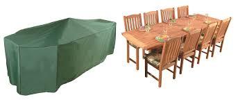 bosmere premier 320cm x 190cm 8 10 seater rectangular patio set garden furniture cover