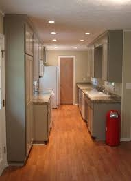Full Size of Kitchen:cabinets White Shaker Corian Rosemary Countertop  Remodel Galley Kitchen B And ...