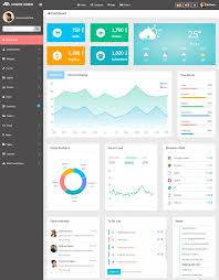 Html5 Dashboard Design 35 Best Html5 Dashboard Templates And Admin Panels 2019