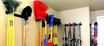 ski wall rack garage ski rack garage wall tool holder garage wall mounted shelving hanging on