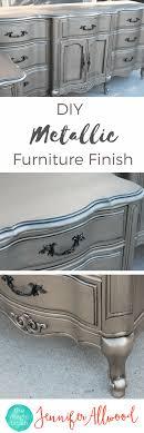 diy metallic furniture. DIY Silver Furniture Finish | The Magic Brush Diy Metallic F